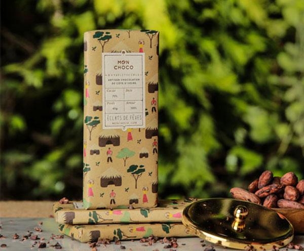 Eclat de fêves de cacao 40g